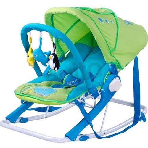 Leżaczek aqua zielony + darmowy transport! marki Caretero