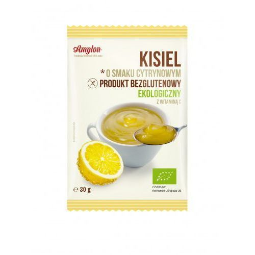 Amylon Kisiel o smaku cytrynowym bezglutenowy bio 30 g