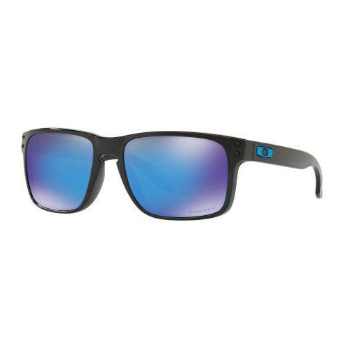 Okulary Oakley Holbrook Polished Black Prizm Sapphire Iridium OO9102-F555, kolor czarny