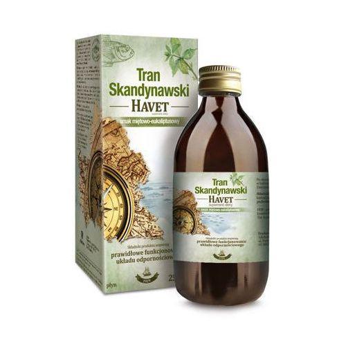 TRAN SKANDYNAWSKI HAVET Smak miętowo-eukaliptusowy płyn 250ml
