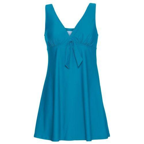 Sukienka kąpielowa bonprix niebieskozielony morski, kolor zielony