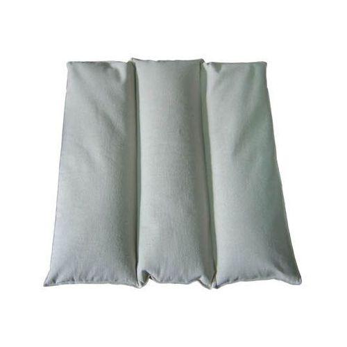 Poduszka pikowana 3-komorowa z siemienia lnianego