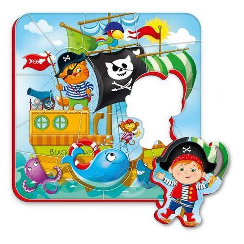 Magnesy piankowe puzzle Piraci, RK1304-01