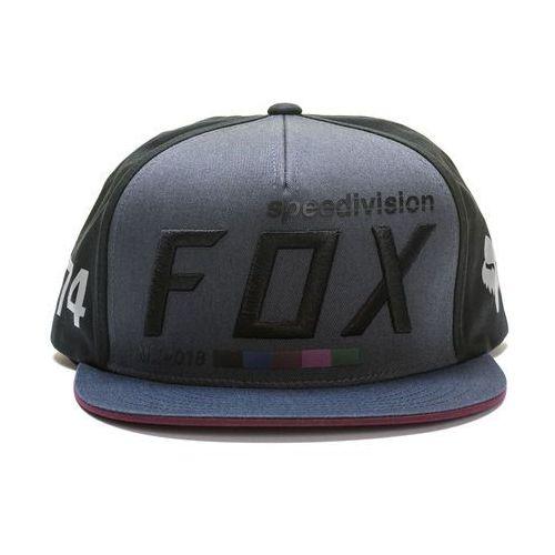 FOX czapka męska Draftr UNI czarny, kolor czarny