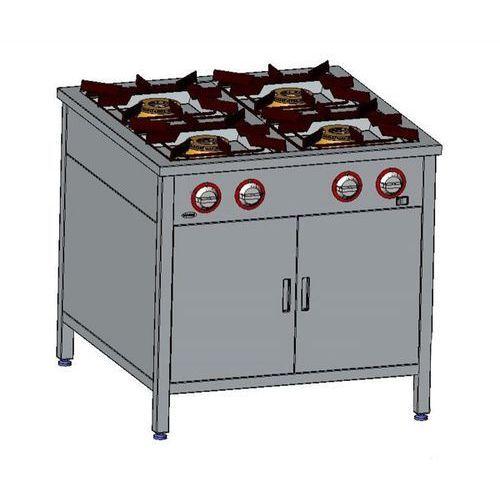 Kuchnia gazowa 4-palnikowa z szafką  tg 4724.iv marki Egaz
