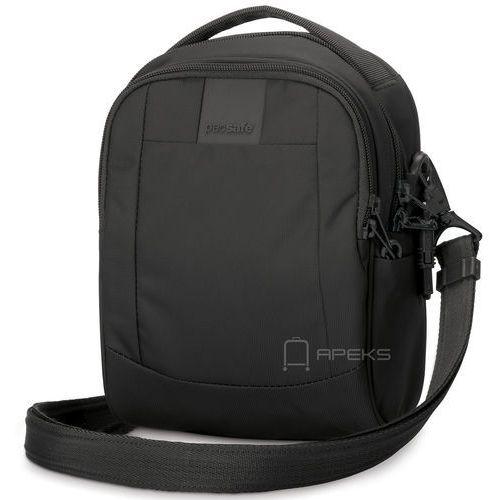 """metrosafe ls100 torba na ramię / tablet 7"""" / antykradzieżowa / black - black marki Pacsafe"""