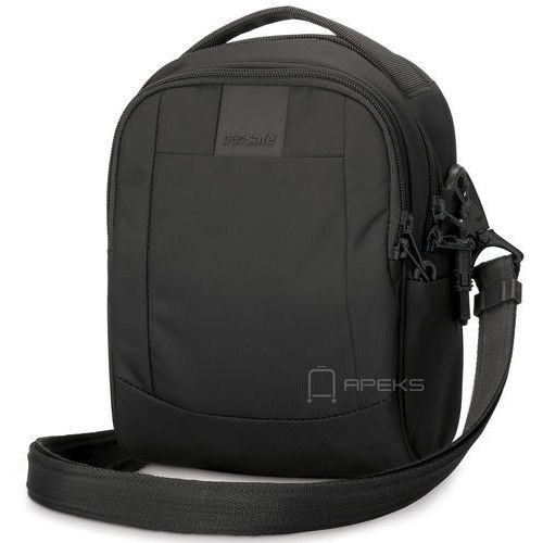 """metrosafe ls100 torba na ramię / tablet 7"""" / antykradzieżowa / czarna - black marki Pacsafe"""