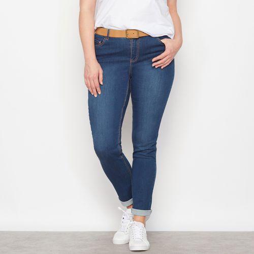 Streczowe dżinsy slim Smukła sylwetka wewn. dł. nogawki. 78 cm.