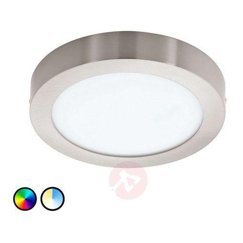 Eglo 96677 - LED Plafon FUEVA-C LED/15,6W/230V chrom matowy okrągły (9002759966775)
