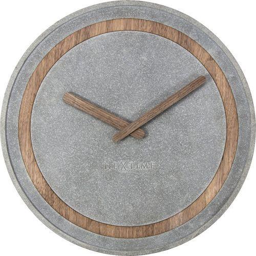 Nextime :: zegar ścienny concreto Ø35cm