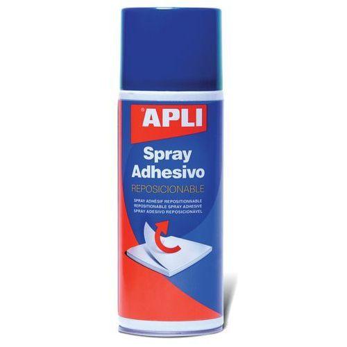 Klej w sprayu APLI, do repozycjonowania, 400ml, AP12088