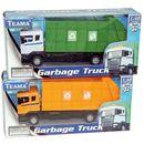 Teama, Śmieciarka, żółta - produkt z kategorii- Śmieciarki