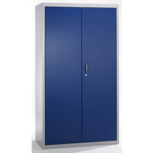 Szafa ekologiczna, drzwi zamknięte, wys. x szer. x głęb. 1800x1000x500 mm, 7 pół marki Stumpf-metall