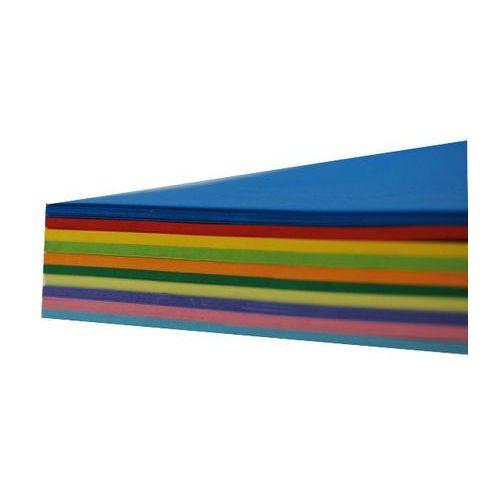 Papier techniczny kolorowy 250g a4 100 ark. mix marki Mazak