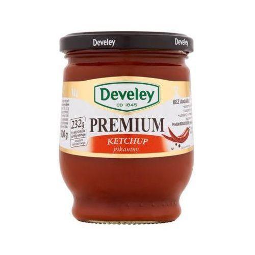 300g ketchup premium pikantny aż 232g pomidorów na 100g produktu marki Develey