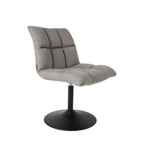 Dutchbone krzesło obrotowe mini bar jasnoszare 1100258 (8718548024939)