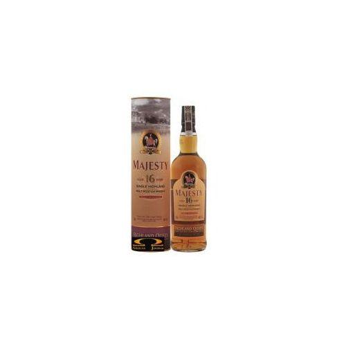 Whisky highland queen majesty 16yo 0,7l w tubie marki Edrington group ltd.