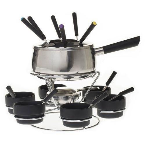 Secret de gourmet Zestaw do fondue, profesjonalne urządzenie z 23 elementami