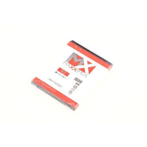 BATERIA AKUMULATOR MAXXIMUS EB-F1A2GBU 1600mAh do telefonów SAMSUNG GALAXY S2 I9100 / S2 PLUS I9105 (5901313082705)