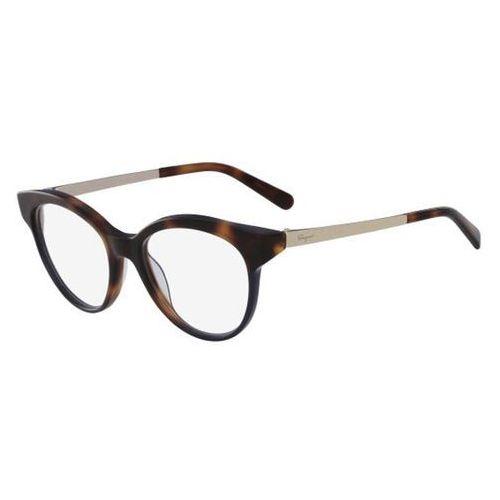 Salvatore ferragamo Okulary korekcyjne sf 2784 259
