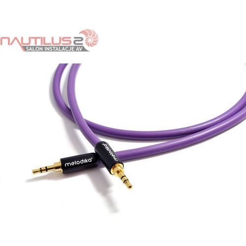 Melodika MDMJ20 Kabel jack stereo 3,5mm 2m - 5 lat gwarancji! - Dostawa 0zł
