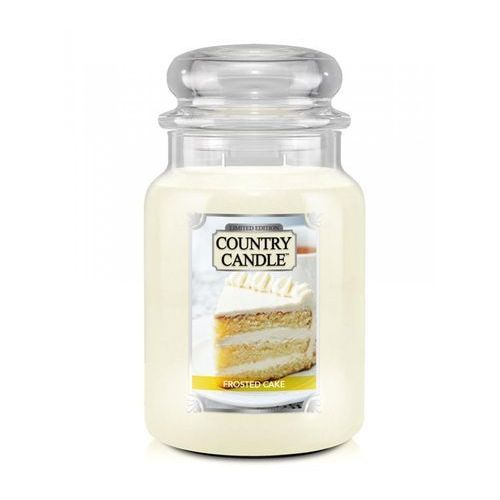 Country candle świeca frosted cake 680g marki Kringle candle
