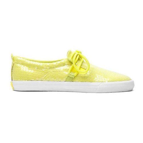 Buty - belay neon yellow/white (yel) marki Supra
