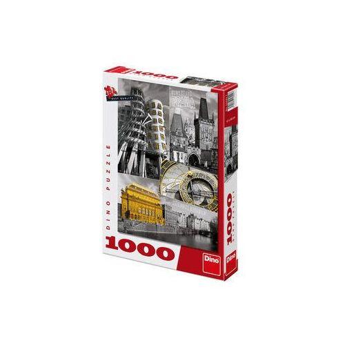 Praha - puzzle 1000 dílků neuveden (8590878532427)