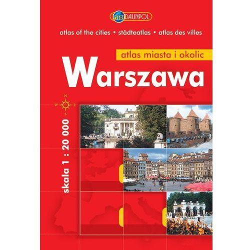 Warszawa. Plan miasta i okolic. 1:20 000. - Praca Zbiorowa, praca zbiorowa