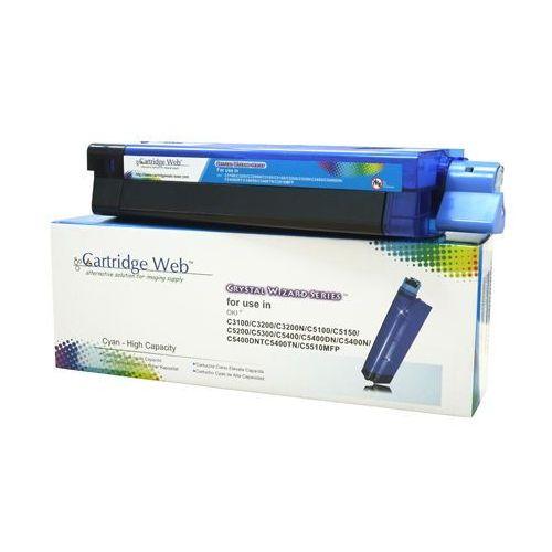 Cartridge web Toner cyan oki c3100/c5100/c5450 zamiennik 42804515/42127407/42127456