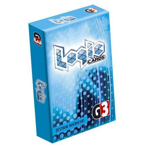 Logic Cards zestaw niebieski (5902020445838)