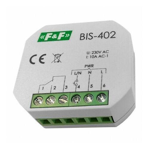 F&f Bis-402 przekaźnik bistabilny 230v
