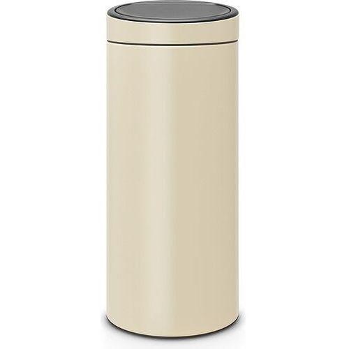 Brabantia Kosz na śmieci touch bin new 30l migdałowy (8710755115042)