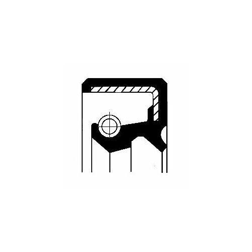 Corteco Pierścień uszczelniający wału, piasta koła  19016579b