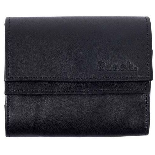 Portfel - small folded purse black beauty (bk11179) marki Bench