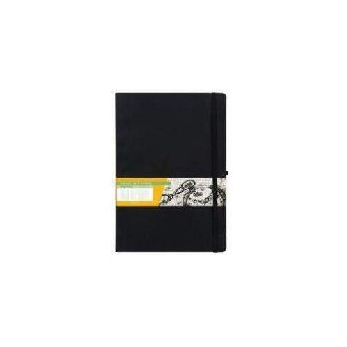 Notes B5 Kratka Impresja Czarny ANTRA (5904210018747)