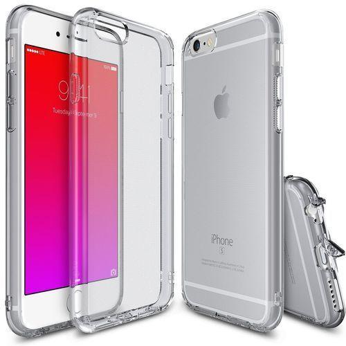 Etui Ringke Air Apple iPhone 6/6s Plus Dymione Czarne, 8809452179539