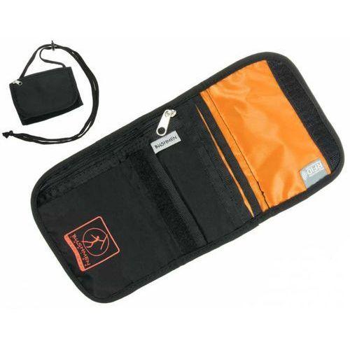Paszportówka portfel turystyczny BUSHMEN z systemem RFID *czarny