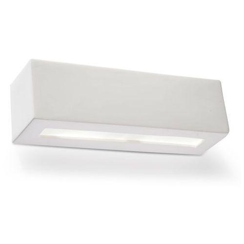 Sollux vega sl.0006 kinkiet lampa ścienna 1x60w e27 biały >>> rabatujemy do 20% każde zamówienie!!!