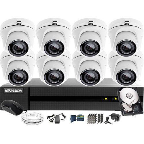 Hikvision hiwatch 8x hwt-t123-m zestaw monitoring hwd-6116mh-g2, 1tb, akcesoria