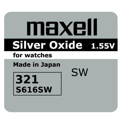 Maxell 321/SR616SW 1.55V