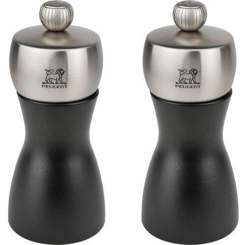 Peugeot - Fidji - zestaw młynków do pieprzu i soli (wysokość: 12 cm) (4006950025632)