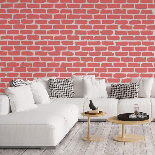 Nakleo Szablon malarski wielokrotny powtarzalny // brick wall