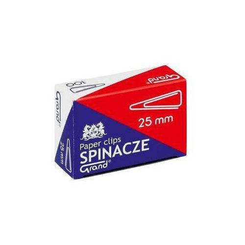 Spinacze trójkątne Grand 1101386 28mm/100szt. - produkt z kategorii- Pinezki i spinacze