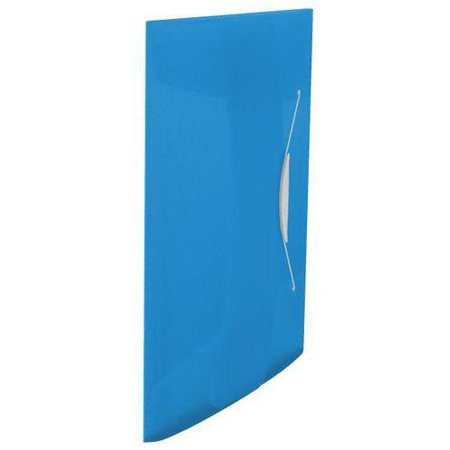 Esselte Teczka z gumką vivida 15 mm, niebieska 624040 (4049793028620)