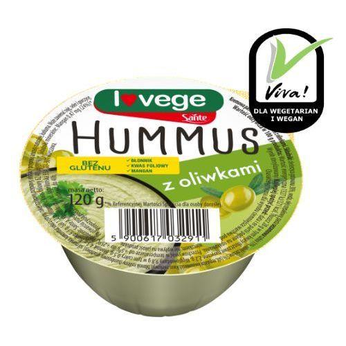 Hummus z oliwkami 120g Sante (5900617032911)