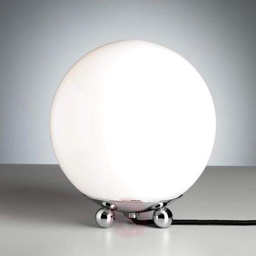 Lampa stojąca w stylu art deco z francji chrom marki Tecnolumen