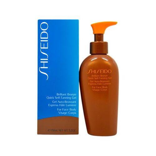 Shiseido Brilliant bronze tinted self-tanning gel żel samoopalajacy do ciała i twarzy 150ml