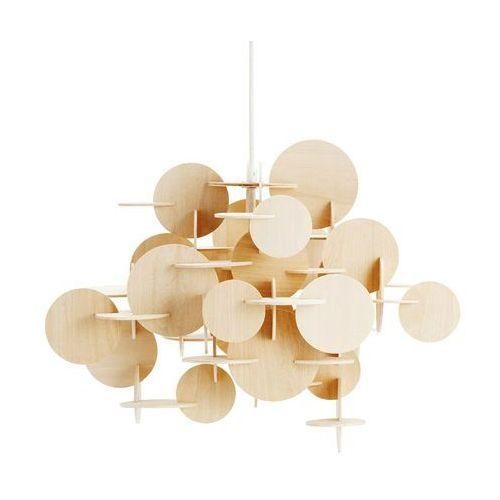 BAU - Lampa wisząca Drewno naturalne 55cm (5707434054399)