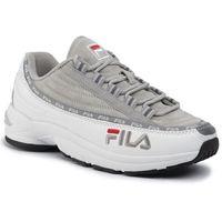 Sneakersy FILA - DSTR97 S 1010712.01Z White/Gray Violet